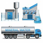 pic of groundwater  - Mineral waters production including trailer with cistern - JPG