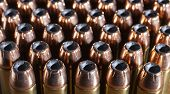 pic of cartridge  - Lots of forty four magnum cartridges with hollow point bullets - JPG