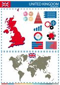 foto of nationalism  - Vector Illustration United Kingdom Country Nation National Culture Concept - JPG