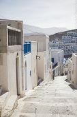 stock photo of greek-island  - summer on the Greek island of Astypalaia  - JPG
