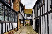Постер, плакат: Early Tudor building in Rye