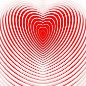 picture of twist  - Design heart twisting movement illusion background - JPG