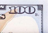 foto of one hundred dollar bill  - Banknote - JPG