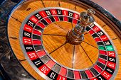image of roulette table  - close - JPG