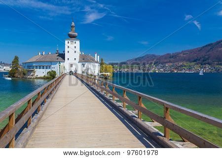 Schloss Ort, Castle In Gmunden, Austria, Europe