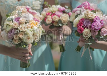 Beautiful Bouquets Of Roses