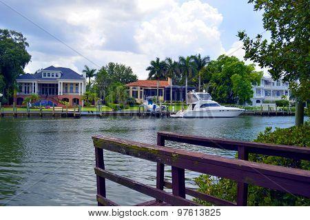 Hudson Bayou in Sarasota, Florida