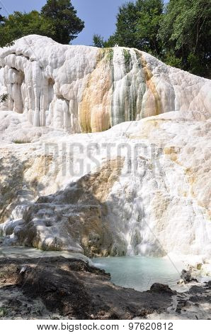 Terme San Filippo in the province of Siena