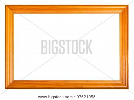 Lacquered Wooden Picture Frame