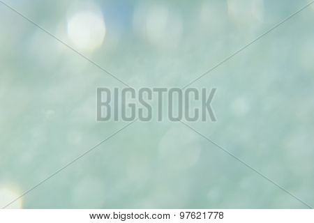 soft background of blur turquoise water sea