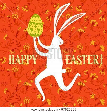 Easter Rabbit Illustration