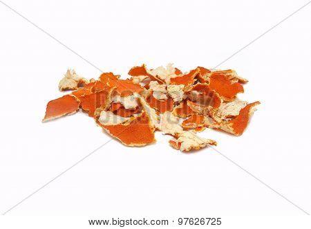 Crust of mandarine