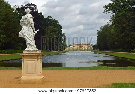 Wrest park French style mansion