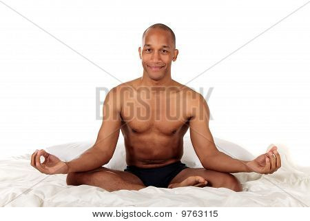 African American Bedroom Yoga