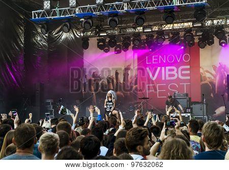 Lenovo Vibe Fest .concert Of