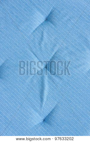 Abstract Blue Textile Background