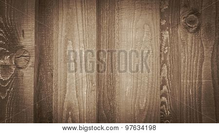 Old Wooden Board Wall As Background