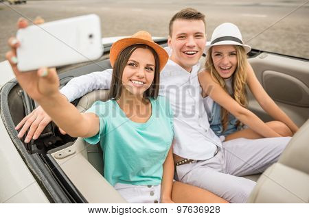 Friends In Cabriolet