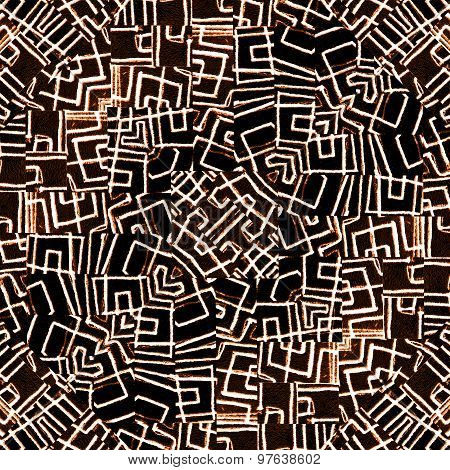 Geometric Intricate Ethnic Pattern