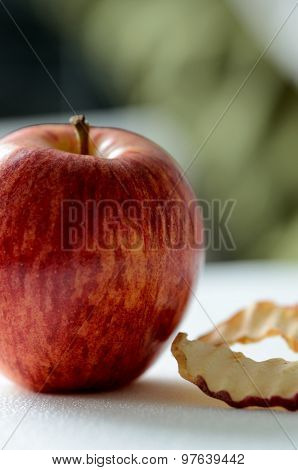 Apples, Fresh And Dry
