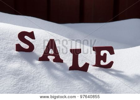 Christmas Sale On Snow