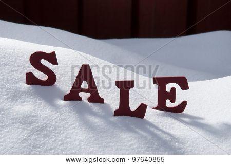 Christmas Sale On Snow