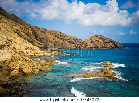Hidden Bay at Porto Santo