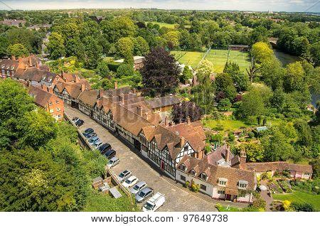 Picturesque English village