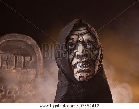 Scary Zombie Halloween Prop