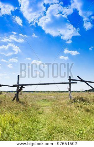 Fence & sky