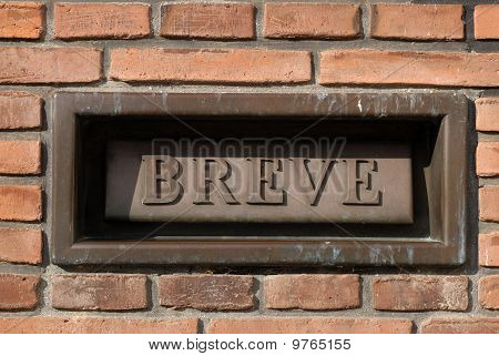 Danish Letterbox