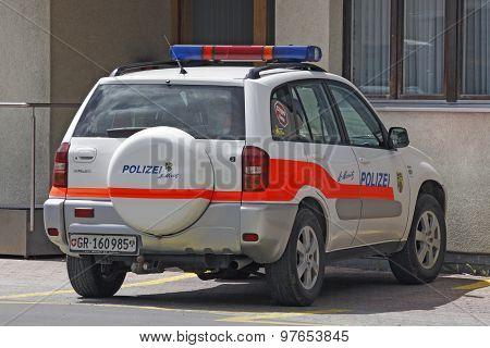 Switzerland - Sankt Moritz - Police