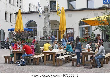 Switzerland - Sankt Moritz - Center