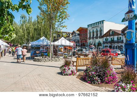 Leavenworth Washington Tourism Art Sho