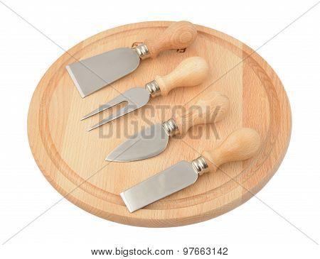 Set Various Cheese Knives