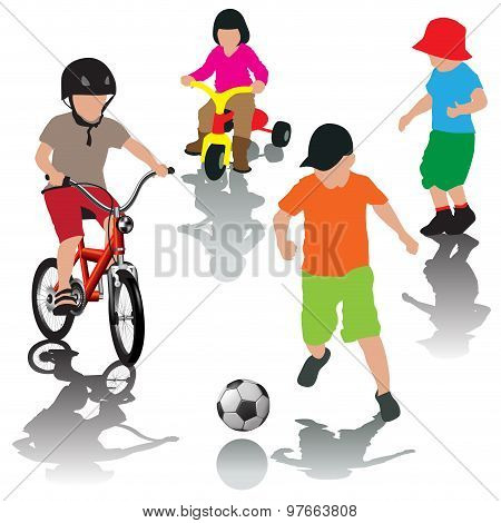 Active Leisure With Children