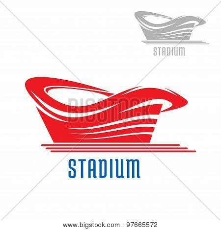 Sport game stadium or arena building