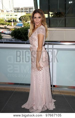 LOS ANGELES - AUG 1:  Allison Holker at the The Dizzy Feet Foundation`s Celebration Of Dance Gala at the Club Nokia on August 1, 2015 in Los Angeles, CA