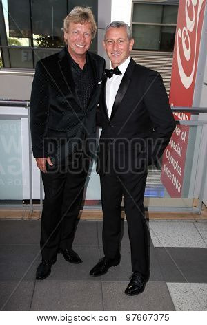 LOS ANGELES - AUG 1:  Nigel Lythgoe, Adam Shankman at the The Dizzy Feet Foundation`s Celebration Of Dance Gala at the Club Nokia on August 1, 2015 in Los Angeles, CA
