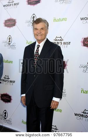 LOS ANGELES - AUG 1:  Fred Willard at the A CATbaret! - A Celebrity Musical Celebration of the Alluring Feline at the Avalon on August 1, 2015 in Los Angeles, CA