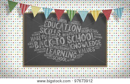 Back To School, Pennon, Blackboard