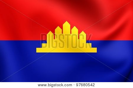 State Of Cambodia Flag (1989-1993)