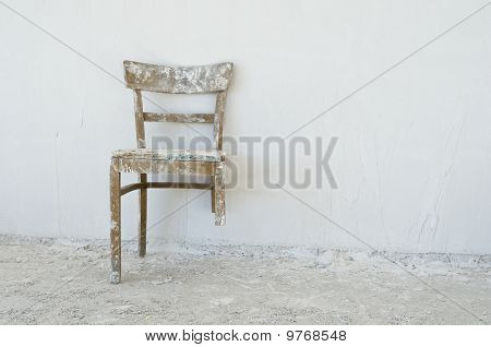 Old Broken Chair