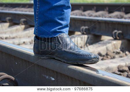 Shoes Railroad