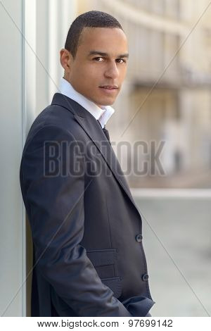 Attractive Smiling Businessman