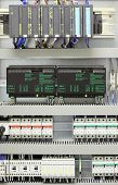 picture of plc  - Industrial automation and control with PLC converters miniature circuit breakers and relays - JPG