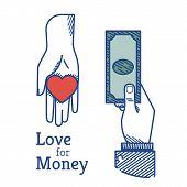 Love for money poster