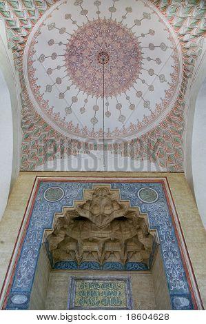 Mosque Ceiling Decoration In Sarajevo