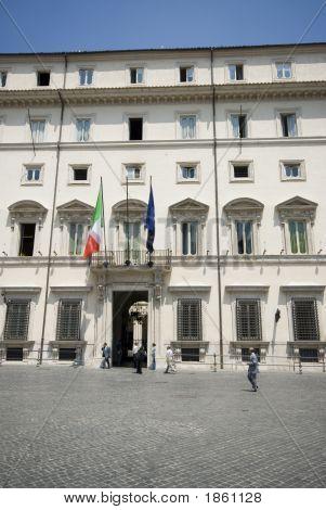 Piazza Colonna Rome Italy