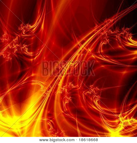 Hot abstract plasma